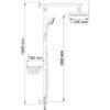Душевой комплект WasserKRAFT A015 17619