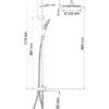 Душевой комплект WasserKRAFT A039 17582