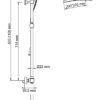 Душевой комплект с термостатическим смесителем WasserKRAFT A15502 Thermo 17515
