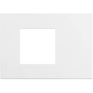 BT Axolute Air Матовый белый Рамка 2 модуля, итальянская модульность