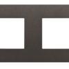 ABB NIE Zenit Антрацит Рамка 2-я 2+2 мод