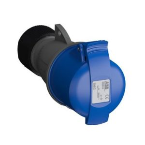 ABB Розетка кабельная Easy&Safe 232EC6, 32А, 2P+E, IP44, 6ч