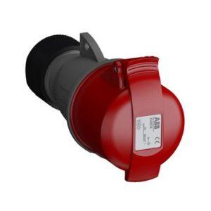 ABB Розетка кабельная Easy&Safe 316EC6, 16А, 3P+E, IP44, 6ч