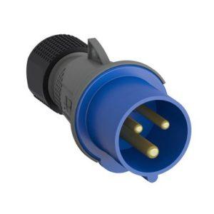 ABB Вилка кабельная Easy&Safe 216EP6, 16А, 2P+E, IP44, 6ч