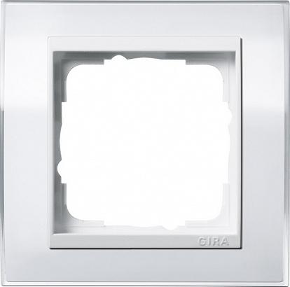 Gira EV CL Бел/Бел Рамка 1-ая