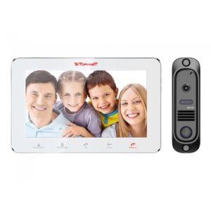 DVC комплект видеодомофона Tor-neT (TR-29M W видеодомофон + В/П DVC-414Bl)