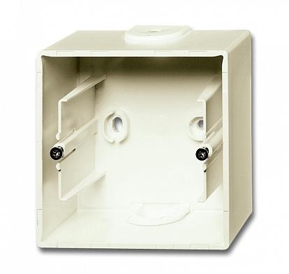 ABB BJB Basic 55 Беж Коробка для открытого монтажа, 1-постовая