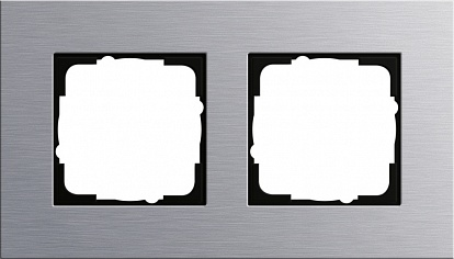 Gira ESP Алюминий Рамка 2-ая