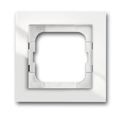 ABB Axcent Рамка 1-постовая, для монтажа заподлицо, axcent, белый