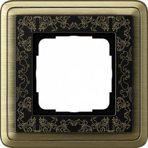 Gira ClassiX Art Бронза/Черный Рамка 1-ая