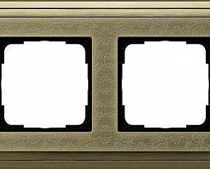 Gira ClassiX Art Бронза/Бронза Рамка 2-ая