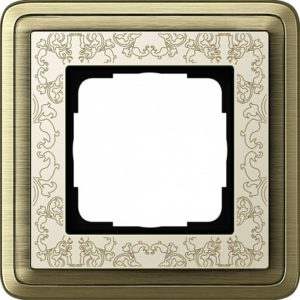 Gira ClassiX Art Бронза/Кремовый Рамка 1-ая