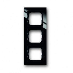 ABB Axcent Рамка 3-постовая, для монтажа заподлицо, axcent, черный