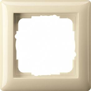Gira Standard Крем глянц Рамка 1-ая