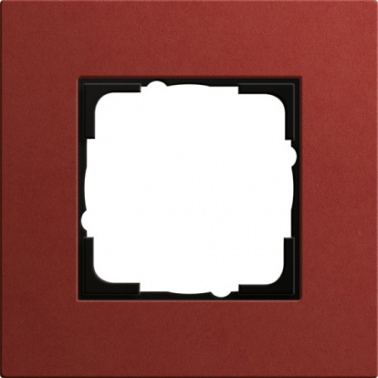 Gira ESP Lenoleum-Multiplex красный Рамка 1-ая