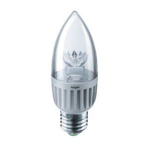Лампа Navigator  NLL-C37-7-230-2.7K-E27-CL