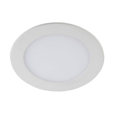 Точечный светильник светодиодный потолочный встраиваемый круглый ЭРА LED 1-12-6K 12W 220V 6500K (30/630)