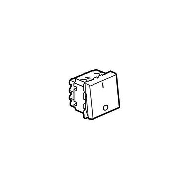 Legrand Выключатель двухполюсный Программа Mosaic 2 модуля 20 AX белый