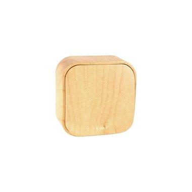 Legrand Выключатель 10A 1 клавишный дерево