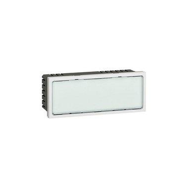 Legrand Световое табло с подсветкой белыми светодиодами Программа Mosaic 5 модулей белое