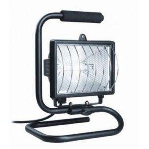 Прожектор ИО500П (переноска) галогенный черный IP54 ИЭК