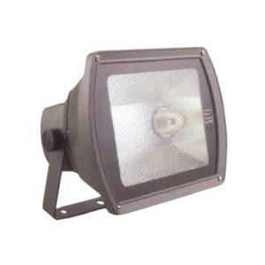 Прожектор металлогалогенный ГО02-70-02 70Вт цоколь Rx7s серый ассиметричный IP65 ИЭК