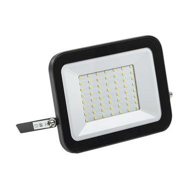 Прожектор СДО 06-50 светодиодный черный IP65 6500 K ИЭК
