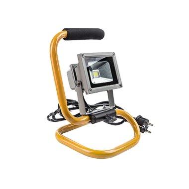 Прожектор светодиодный переносной СДО-2П-10 10Вт 220-240В 6500К 800Лм IP65 ASD
