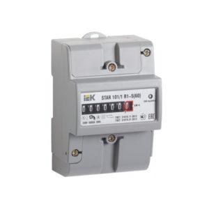 Счетчик электрической энергии однофазный STAR 101/1 R1-5(60)М Ш2 ИЭК