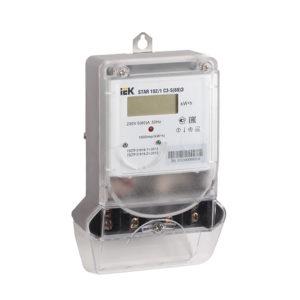 Счетчик электрической энергии однофазный STAR 101/1 R1-5(60)Э ИЭК