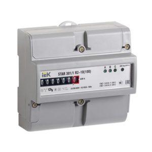 Счетчик электрической энергии трехфазный STAR 301/1 R2-10(100)Э ИЭК