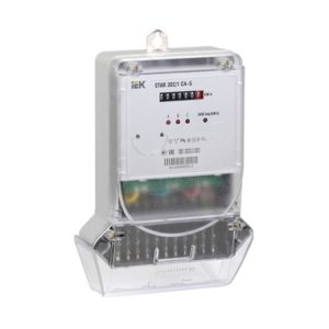 Счетчик электрической энергии трехфазный STAR 302/1 С4-10(100)М ИЭК