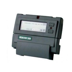 Электросчетчик Меркурий 200,04 230В; 5(60)А; кл. т. 1,0; Мн. т.; CAN; PLCI; ЖКИ; DIN