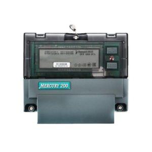Электросчетчик Меркурий 200.02 230В; 5(60)А; кл. т. 1,0; Мн.т.; CAN; ЖКИ; DIN