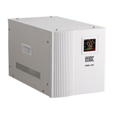 Стабилизатор напряжения однофазный переносной серии Prime 0,5 кВА ИЭК