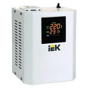 Релейный стабилизатор напряжения однофазный серии Boiler 0,5 кВА ИЭК