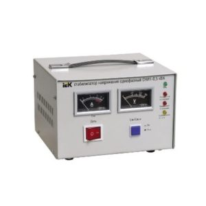 Стабилизатор напряжения однофазный СНИ1-1,5 кВА ИЭК