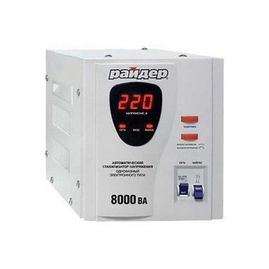 Стабилизатор RD 8000 1-фаз. Райдер (релейный)