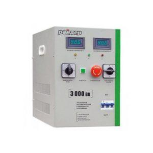 Стабилизатор SD 3 000 3-фаз. Райдер (э/мех)