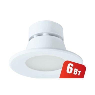 Светильник встраиваемый Navigator NDL-P1-6W-830-WH-LED (аналог R63 60 Вт)