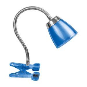 Светильник Navigator NDF-C006-6W-4K-B-LED прищепка, гибкий, синий