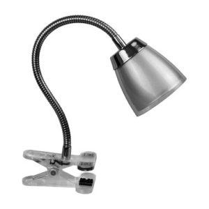 Светильник Navigator NDF-C006-6W-4K-S-LED прищепка, гибкий, серый