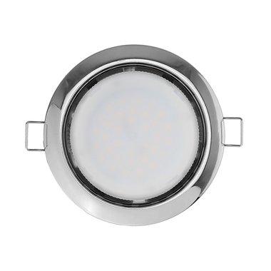 Светильник светодиодный потолочный точечный встраиваемый Navigator NGX-R1-003-GX53 (Хром)