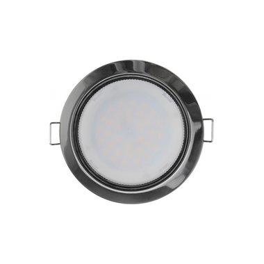 Светильник точечный светодиодный встраиваемый Navigator NGX-R1-005-GX53 (Черный хром)
