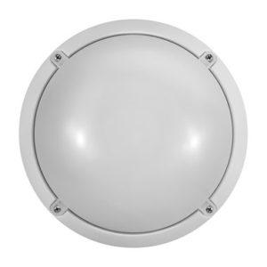 Светильник ОНЛАЙТ OBL-R1-12-4K-WH-IP65-LED-SNRV (с датчиком)