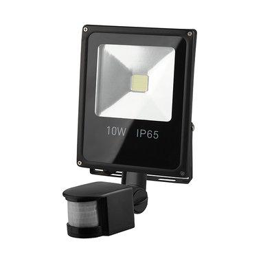 Светодиодный прожектор с датчиком движения ЭРА LPR-10-6500K-M-SEN