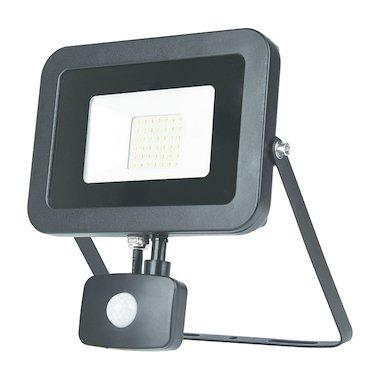 Светодиодный прожектор ЭРА LPR-50-6500К-М-SEN SMD Eco Slim