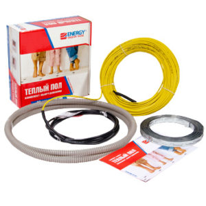 Тёплый пол Energy Cable 1000 Вт