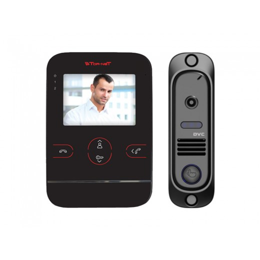 Комплект видеодомофона Tor-neT (TR-29M видеодомофон + В/П DVC-412Bl)