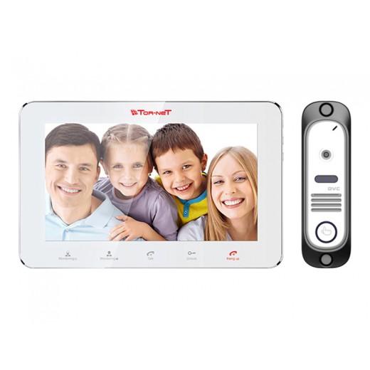 Комплект видеодомофона Tor-neT (TR-29M W видеодомофон + В/П DVC-412Si)
